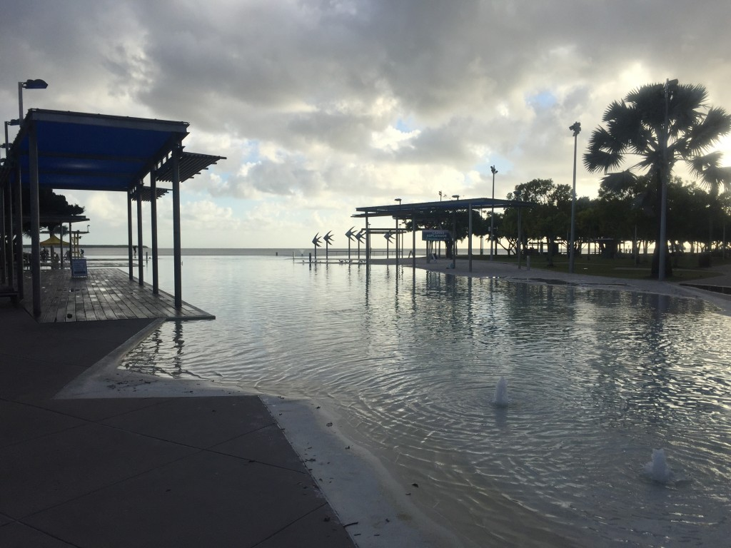 Lagoon in Cairns