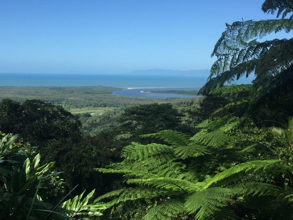 A coastal lookout